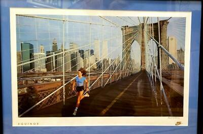 VINTAGE NIKE RUNNING Lithograph
