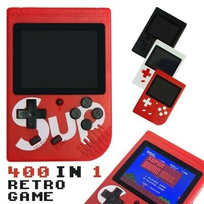 "Handheld Retro Gamebox SUP Console 3.0"" Classic NES Built-In 400 Video Games"