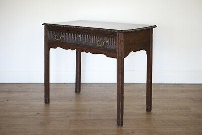 Antique Mahogany Side Table - late 18th century