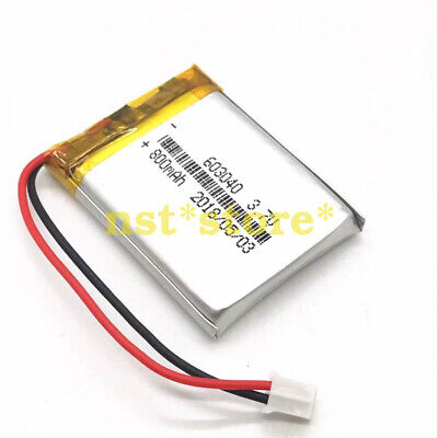 5pcs 3.7V 800mAh lipo polymer battery for Mp3 GPS camera DVD PAD 603040