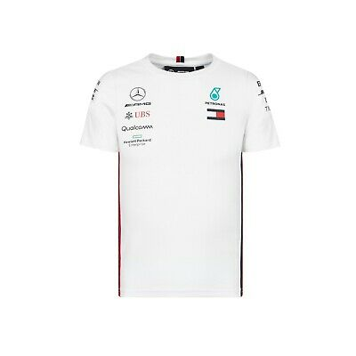 Mercedes AMG Petronas Motorsport F1 Babies & Kids Team T-Shirt - 2019 - White
