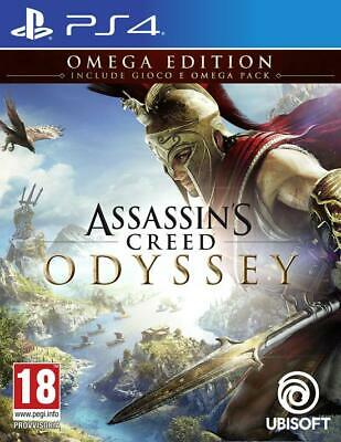 Assassin's Creed Odyssey - Omega Edition - Limited Edition - NUOVO - PS4