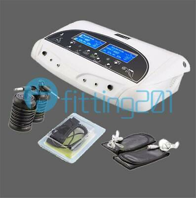 LCD Dual Ion Detox Ionic Foot Bath Spa Clean Machine Infrared Belt