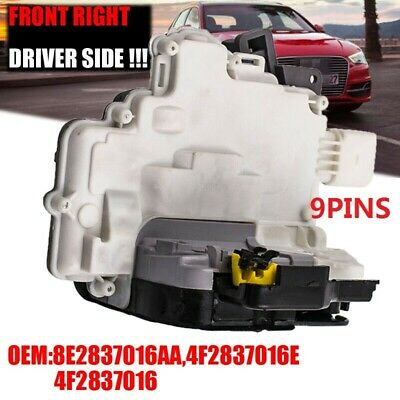 For Audi A3 (8P) A6 (C6) A8 (4E) Front Right Driver Side Door Lock Actuator