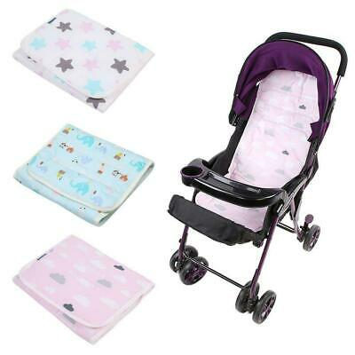 Baby Kids Pushchair Stroller Pad Pram Chair Car Liner Soft Cotton Cushion Mat
