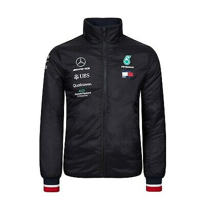 Mercedes AMG Petronas Motorsport F1 Men's Team Lightweight Padded Jacket - 2019