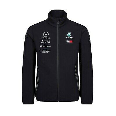 Mercedes AMG Petronas Motorsport F1 Men's Team SoftShell Jacket - 2019