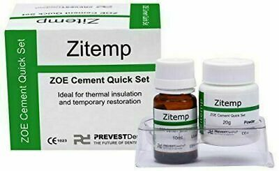 Prevest Denpro Zitemp Powder liquid kit ZOE Cement Dental Care