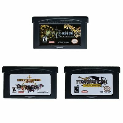 Fire Emblem series Game boy Advance  GBA Game Cards multiple versions
