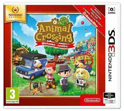 Animal Crossing: New Leaf Welcome Amiibo Selects 3DS Game NEW_UK_SELLER