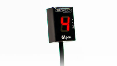 HT-GPXT-WHITE GiPro X Display Contamarce HealTech KTM Adventure 950 S 2003 2006