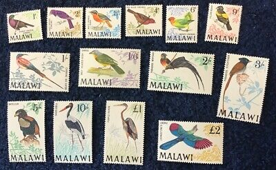 Malawi 1968 Birds MNH Uncounted Mint SG 310/23 - C/V £70 In 2016