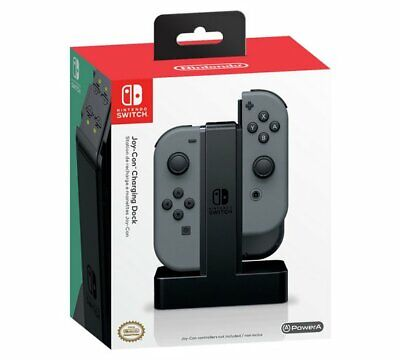 Joy-Con Charging Dock for Nintendo Switch NEW_UK_SELLER