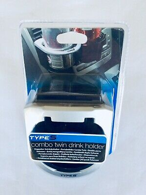 Twin In Car Drinks Holder - New