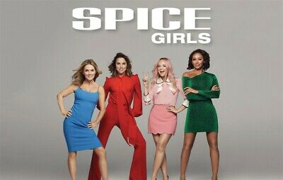 2x Spice Girls Seated Tickets. Wembley 15th June 2019 *Row 2!!*