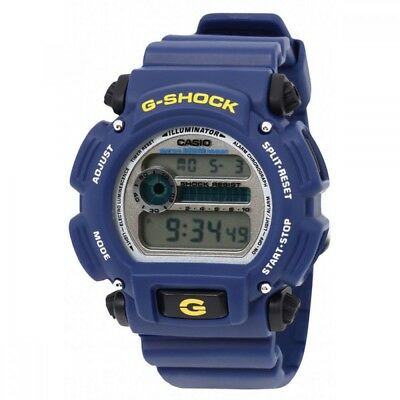 Casio G-Shock DW-9052-2V Matte Blue Digital Men's Sports Watch Blue Illumination