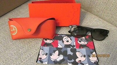 12e25af0c25 BNWT Disney Mickey Mouse Ray Ban Sunglasses With Case HTF Rare Limited  Release