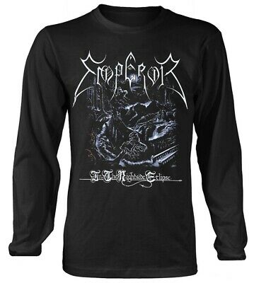 Emperor 'In The Nightside Eclipse' Long Sleeve Shirt - NEW & OFFICIAL