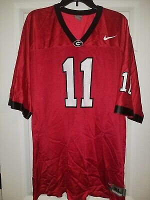 a2233bcd643 Authentic Team Nike Georgia Bulldogs UGA Football Jersey Jake Fromm #11 Size  XL