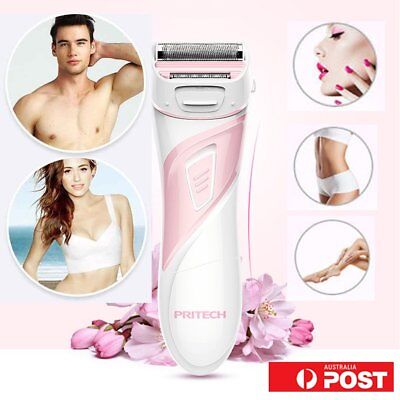 PRITECH Electric Shaver Men Women Body Hair Remover For Sideburn Underarm BS