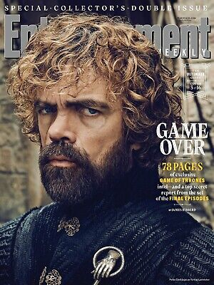 ENTERTAINMENT WEEKLY Magazine (March 2019) Game of Thrones #3; Peter Dinklage
