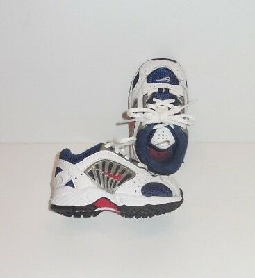 45a75044fc Nike Swoosh Athletic Shoes Infant Baby Toddler Lace Up Sneaker Size 2.5C EUC
