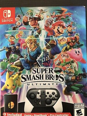 Brand New Super Smash Bros Ultimate SPECIAL EDITION For Nintendo Switch