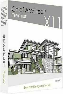 Chief Architect Premier X11 Latest Version, 3D Design, Instant Download, READ
