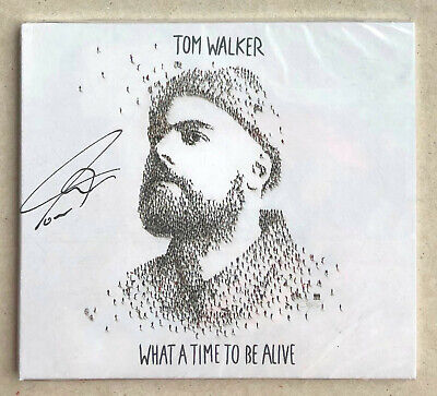 Tom Walker * What A Time To Be Alive * Signed 13 Trk Cd * Bn! * Leave A Light On