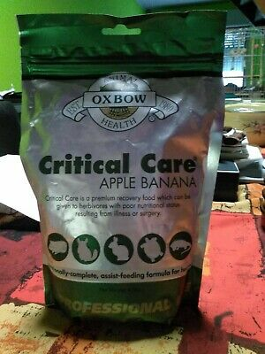 Critical Care Oxbow pomme banane 454g