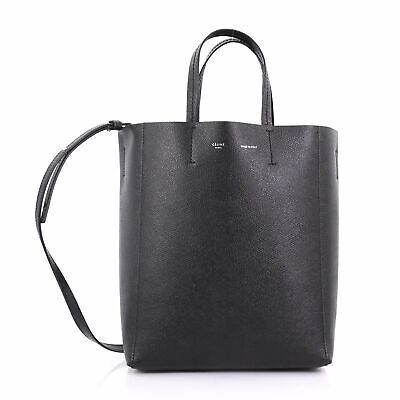 11c26c0d80 Celine Vertical Cabas Tote Grained Calfskin Small