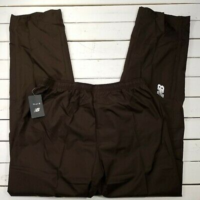 02d94332202f5 NEW BALANCE NB Double Session Track Pants Mens XLT XXL 2XLT Brown Warm Up  NBBR1