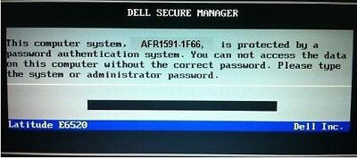 Unlock Bios & Hard-Drive password Dell Inspiron 17 5000,Precision M3800,1F66