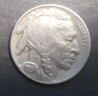 United States US 1936  Buffalo  Nickel  Coin XF