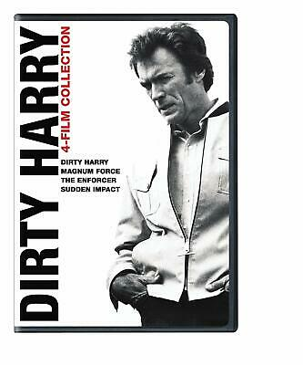 New Dirty Harry 4 Film Dvd Magnum Force Enforcer Sudden Impact Free 1St Cls S&H