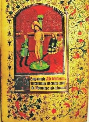 Passion of Christ Highly  illuminated Manuscript    New