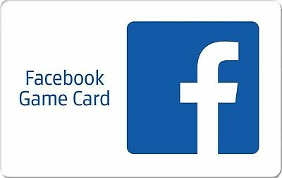 Facebook Game eCard 15$  - Email delivery