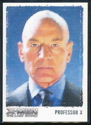 2006 X-Men The Last Stand Art and Images Trading Card #ART1 Professor Xavier