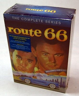Route 66: The Complete Series (DVD, 2012, 24-Disc Set) - SEALED