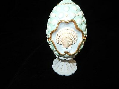 Avons Sea Shells Of Summer Collector Egg