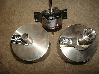 MKS Baratron Pressure Transducer (LOT of 3) Type 127 128 223BD 127aa-00001a
