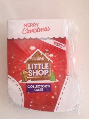 Coles Little Shop CHRISTMAS Edition COLLECTOR Case Folder -  Brand New & Sealed