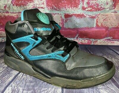Vintage 90 s Reebok Men s The Pump Hexalite Basketball Shoes Size 11.5 Black c61e8eccc