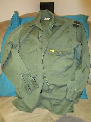 U.S. Army Jungle Green Cotton Shirt.