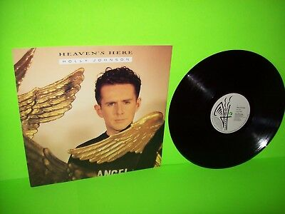 """Holly Johnson Heaven's Here 12"""" Vinyl Record NM Frankie Goes To Hollywood UK"""