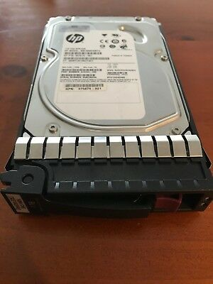 "HP 1TB SAS  3.5"" Dual Port 7.2K 461289-001 Hard Drive"