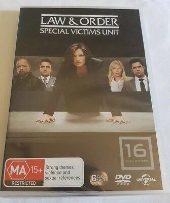 Law And Order - Special Victims Unit : Season 16 (DVD, 2015, 6-Disc Set)