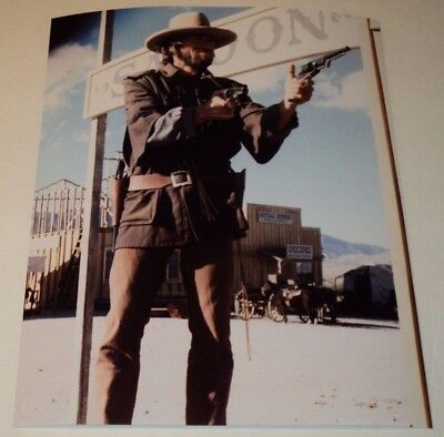 CLINT EASTWOOD / OUTLAW JOSEY WALES /  8 x 10  COLOR  PHOTO