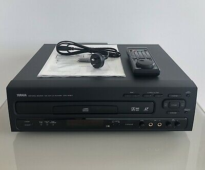 Yamaha CDV-W901 Laserdisc Player, with All Original Accessories and Packaging,..