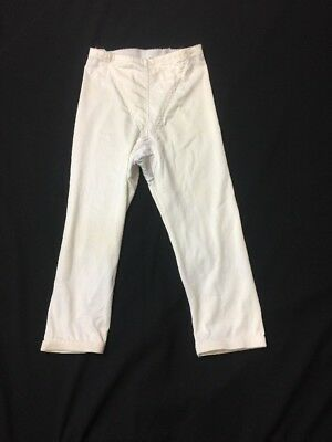 Vintage Girdle Women's Size Medium Long Leg Ivory Foundation Garment- No Brand